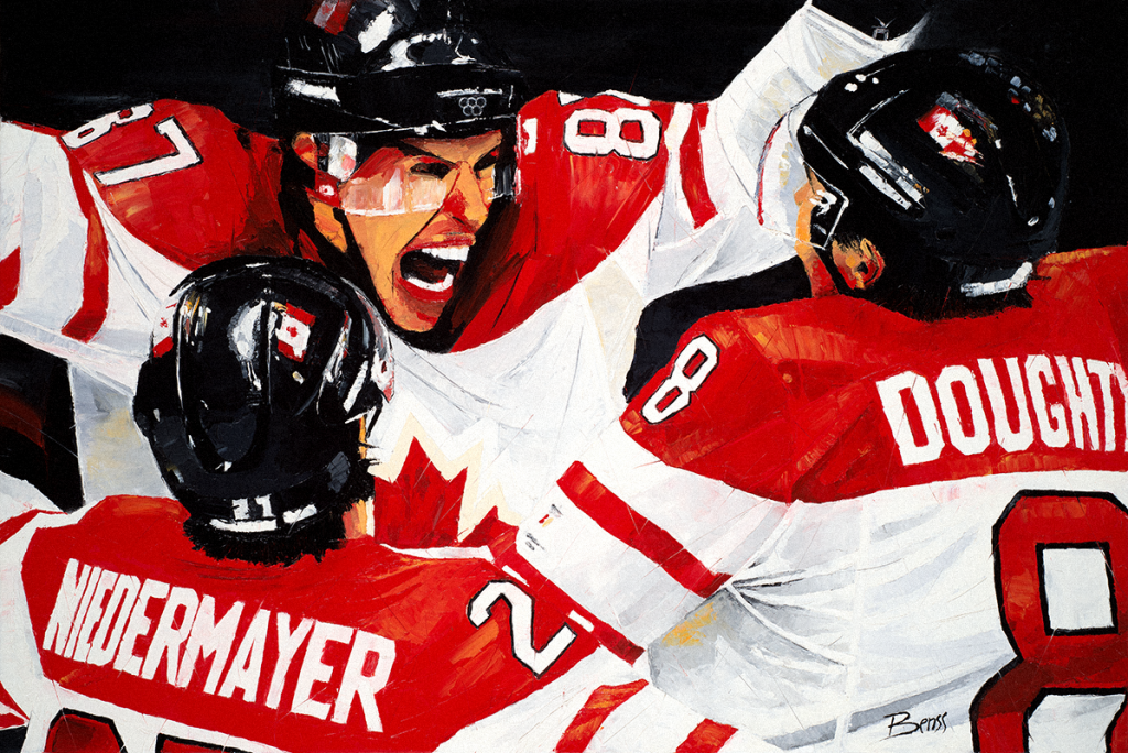 half off 4dced f1609 The Golden Goal – Crosby 2010 Olympic Goal by Benss – Benss.com